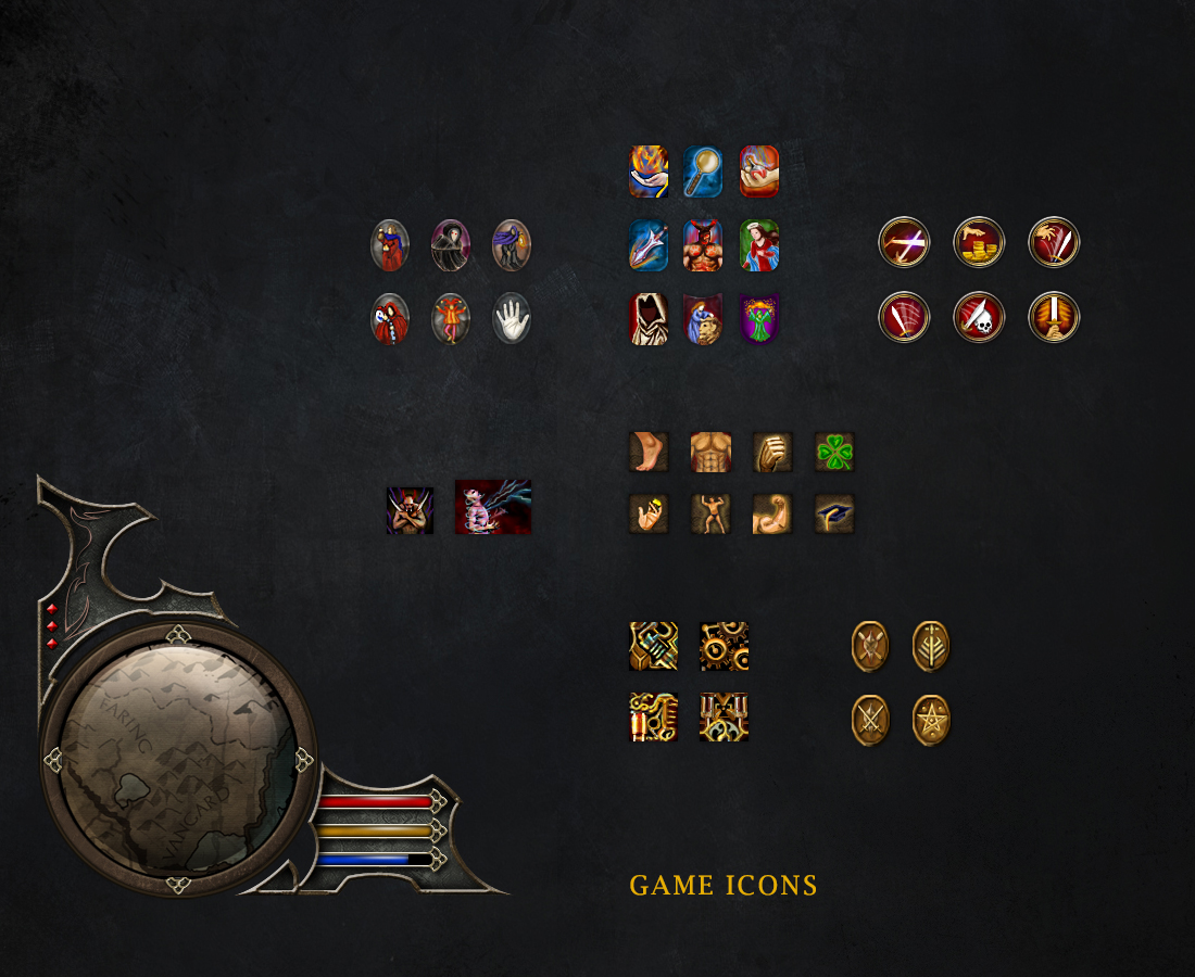 game icons_map