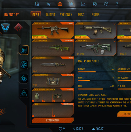 FPS Inventory