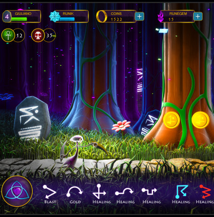 RUNER: Magical RPG Game