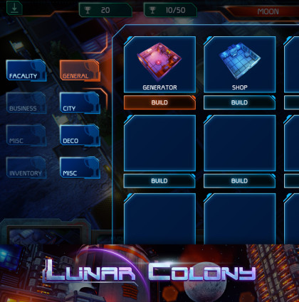 Lunar Colony: PC Game