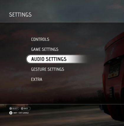 Need for speed UI